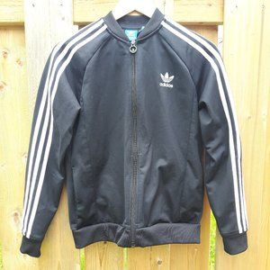 Adidas Track Jacket Youth Adidas trefoil and strip